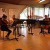 The farewell concerto van het kwartet de Halve Maan. Hier scheiden decreten zich.