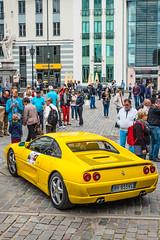 lamborghini(0.0), lamborghini(0.0), auto show(0.0), race car(1.0), automobile(1.0), vehicle(1.0), performance car(1.0), automotive design(1.0), ferrari f355(1.0), land vehicle(1.0), luxury vehicle(1.0), supercar(1.0), sports car(1.0),