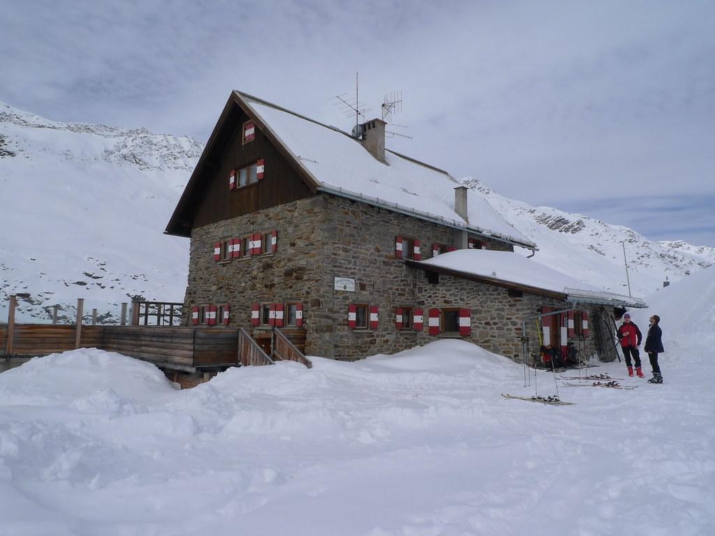 Langtalereckhütte Ötztaler Alpen / Alpi Venoste Österreich foto 04