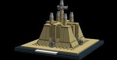Jedi Temple Architecture