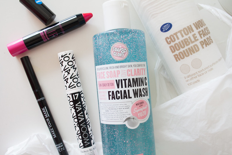 Boots beauty haul - featuring Seventeen & Soap & Glory