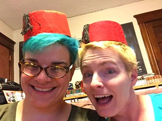 Windy and I are guesting on a podcast about Pyramids of Mars!