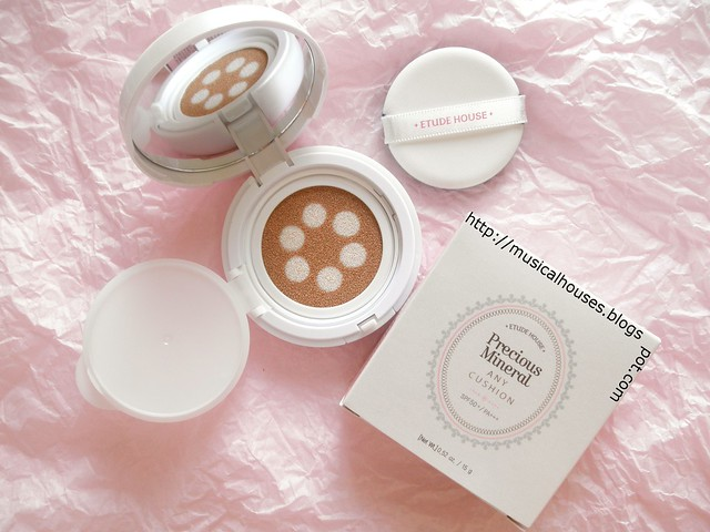Etude House Any Cushion Pearl Aura 1