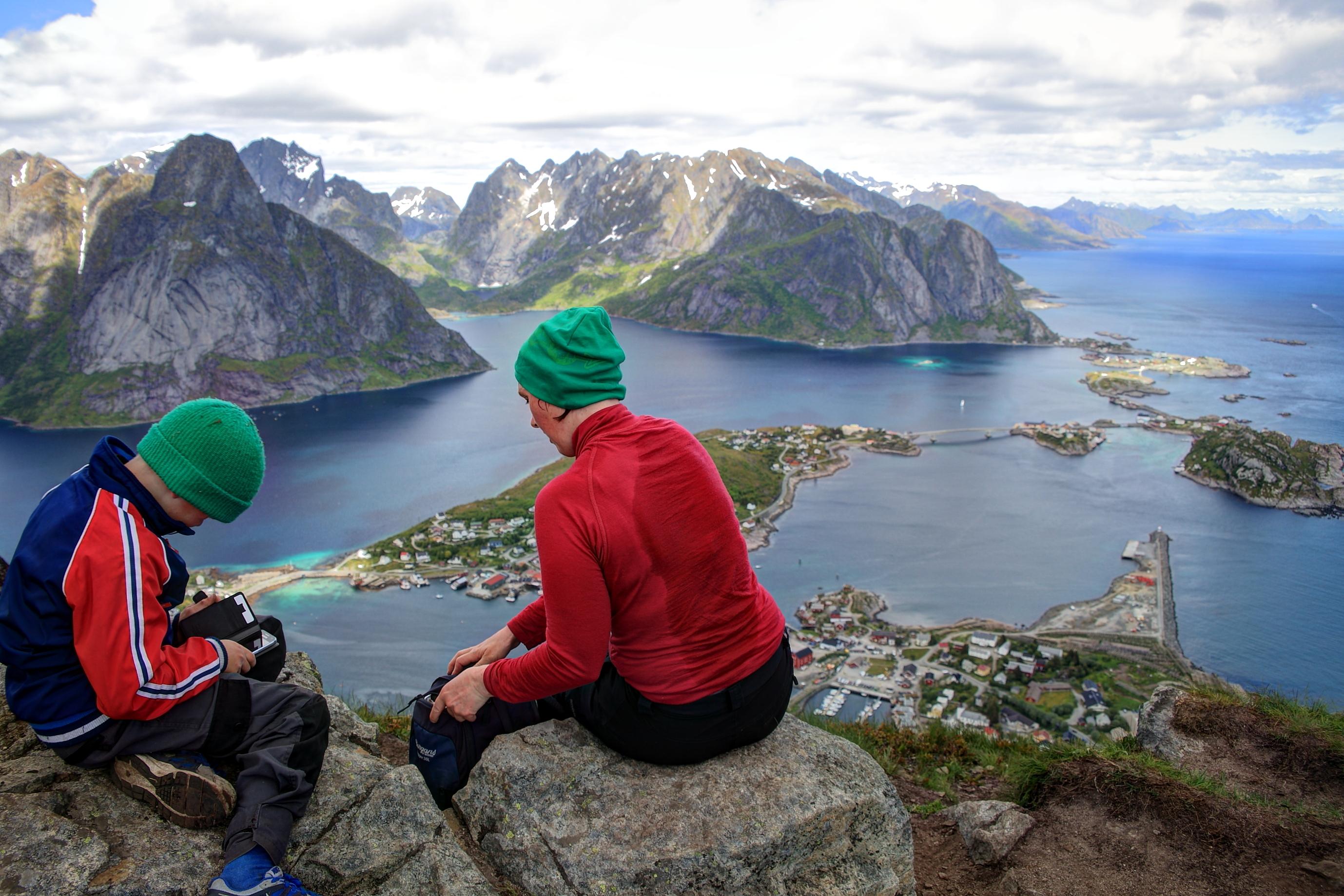 甜蜜妹妹汗汗_2015挪威-Lofoten群島