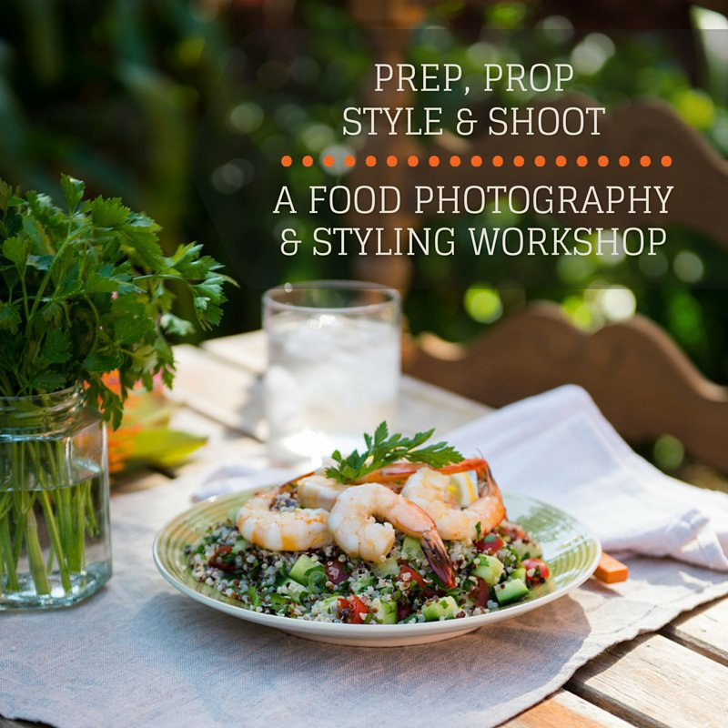 Food photography & styling workshop