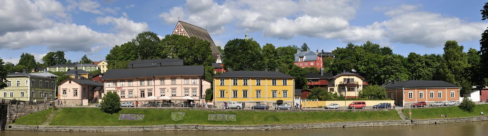 Porvoo - Stadtansicht