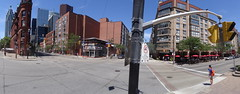 Pano of the intersection of Church and Front streets, 2015 08 02 (5)