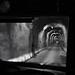 mit dem Postauto durch den Rotabärg-Tunnel (Vals-Zervreila) by Toni_V