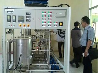 Mesin Boiler di Jurusan Teknik Elektro Politeknik Negeri Ujung Pandang