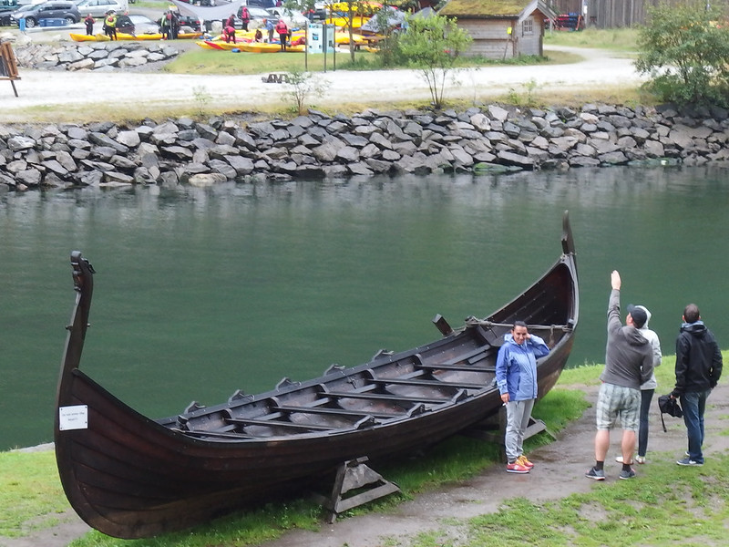 Replica Viking Ship in Gudvangen (1)