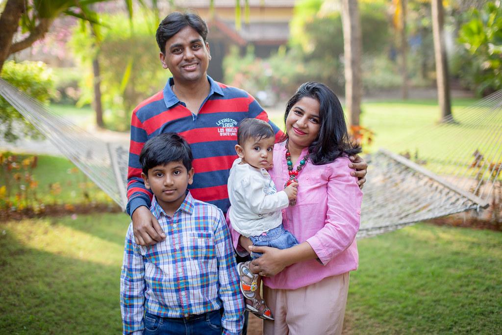 The Jaiswal's Family Shoot at Candolim, Goa