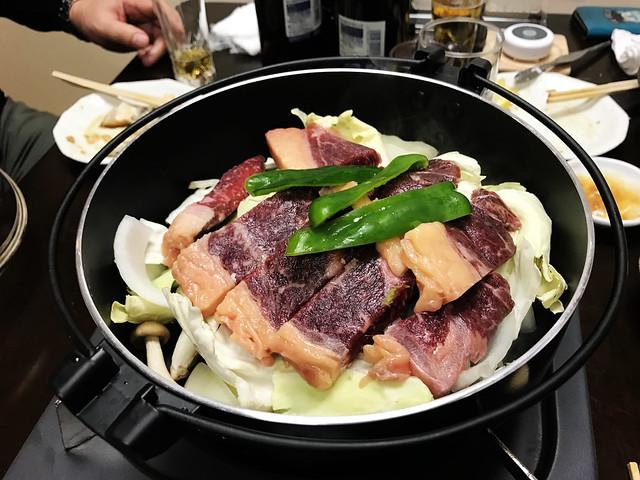 Sukiyaki at Hokkaido
