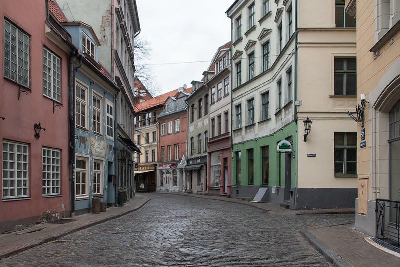 Jauniela at Riga