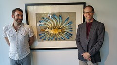Charles and Robert at Marion Scott Gallery