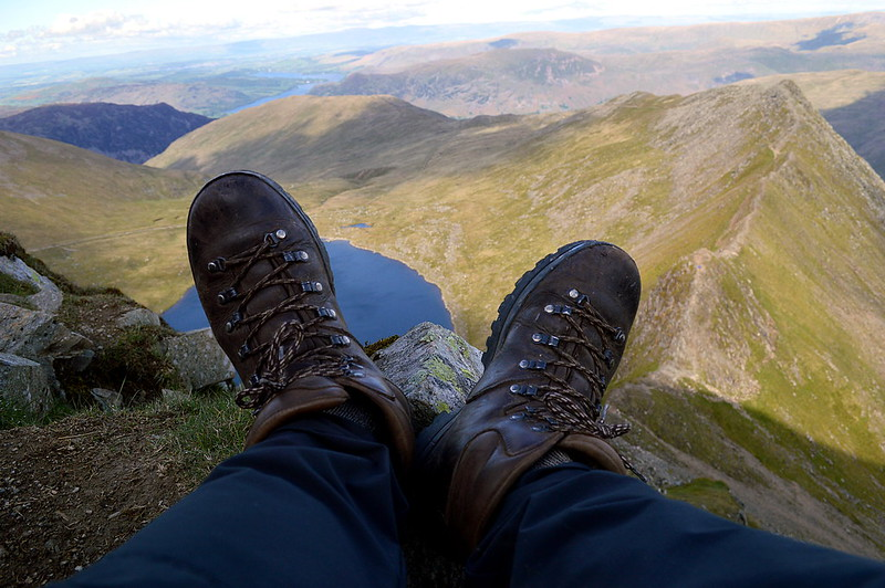 Scarpa Ranger II on Striding Edge