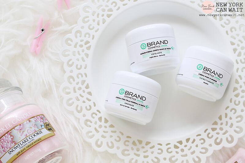 Ebrand Cosmetics Green: la linea verde di cosmetici professionali