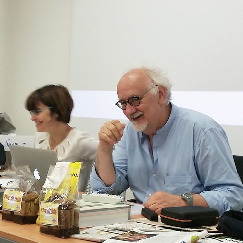 Silvia Giovanna Galli e prof. Danilo Gasparini