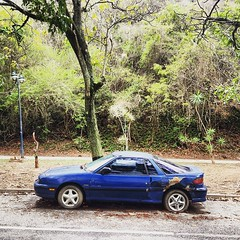 Isuzu Impulse #morninautos #soloparking #chivera #isuzu #impulse #lotus #paradosnotempo #dirtmerchantautos #rustorama #rustandchrome