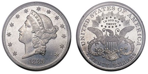 Cassell-7 double eagle pattern