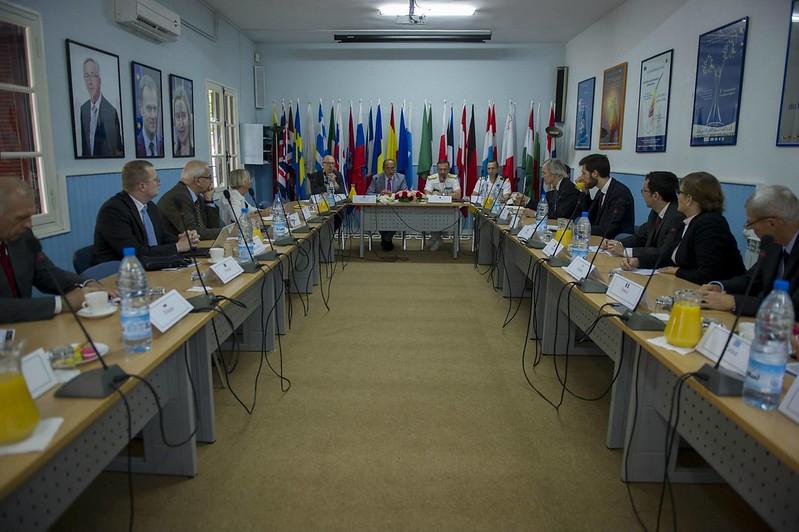 OPCDR RA Enrico CREDENDINO Visits in Algeries – Op. Sophia EUNAVFOR MED