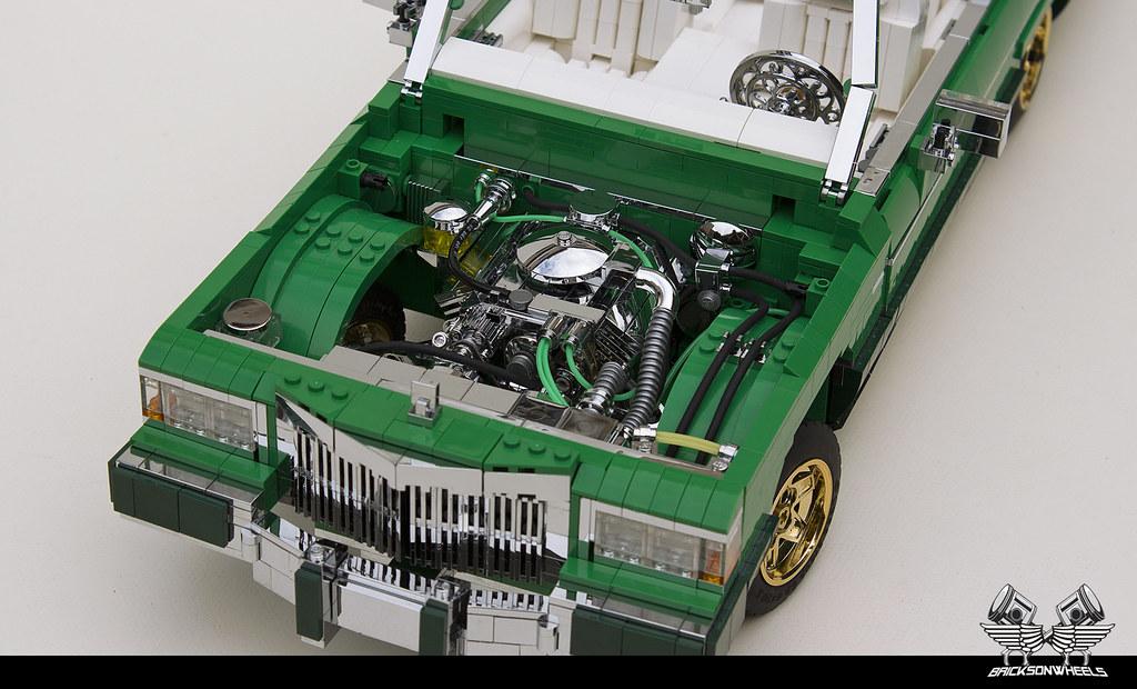 Cadillac Lowrider V8 Engine