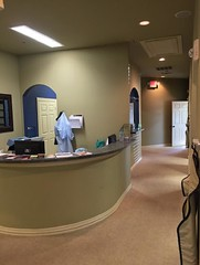 Front office at our family dentistry in Flower Mound TX