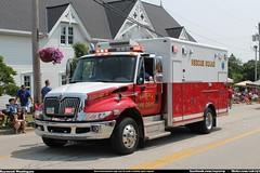 Aurora Ohio Fire Department Squad 3