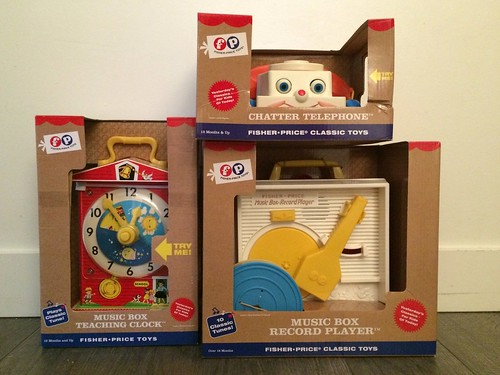 Classic Fisher Price Toys : Fisher price classic toys review