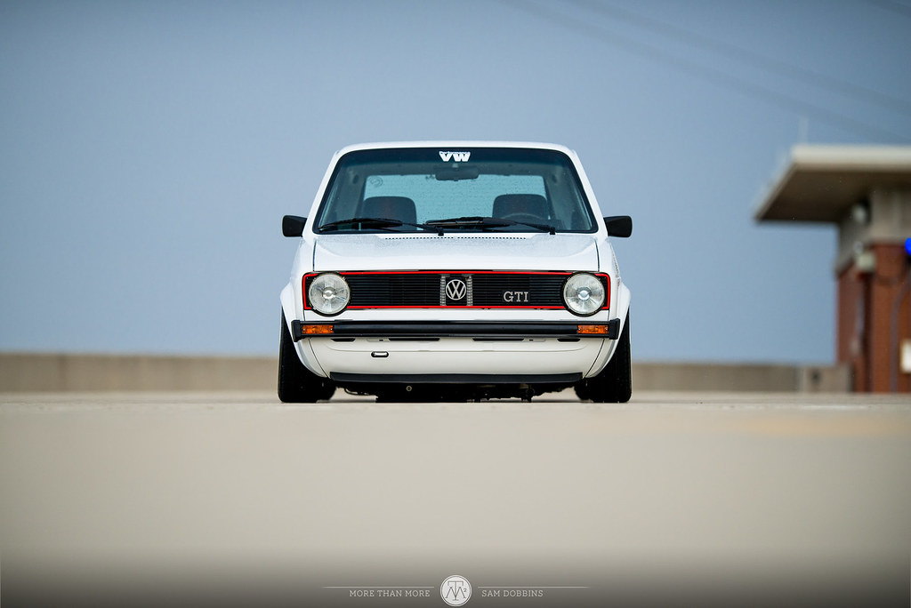 Jesse Seymour's GarageJobs Mk1 VW Rabbit VR6 on BBS RS - © Sam Dobbins 2014 - 1020
