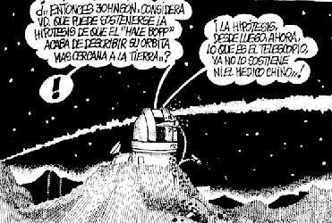 Hale-Bopp - Carlos, Diario La Provincia.