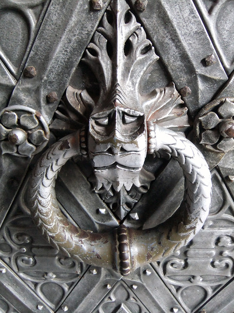 Door Knocker at Kasteel de Haar near Utrecht, Holland