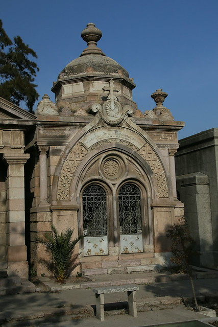 Cemetery.  Santiago, Chile.