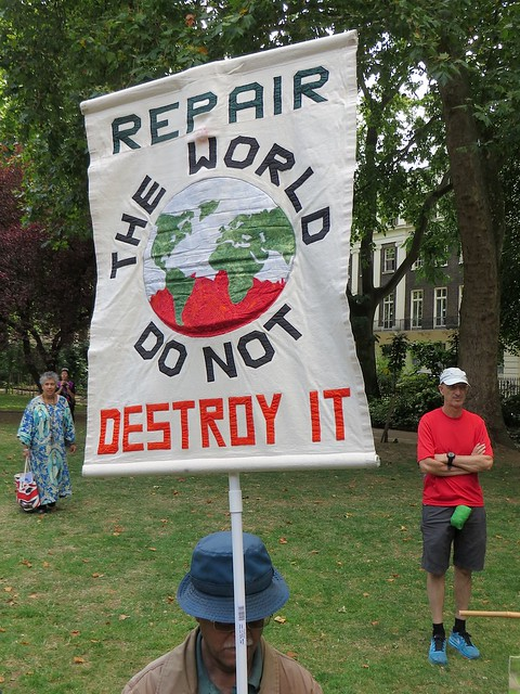 Repair the world, do not destroy it