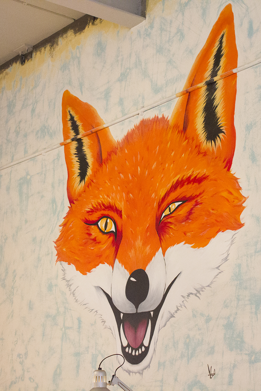 fox-painting-yard-coop-manchester