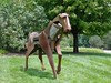 Horse Sculpture at Woodford Reserve Distillery