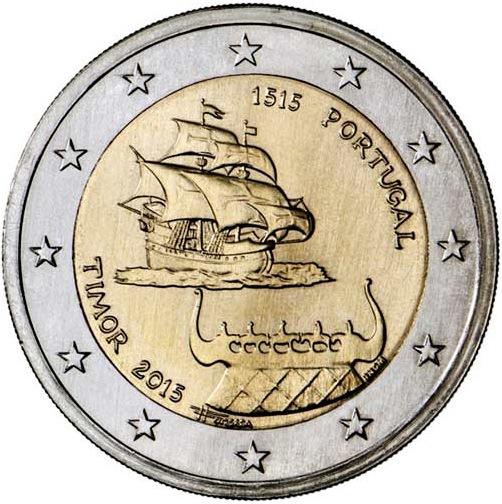 2 Euro Portugalsko 2015, Timor