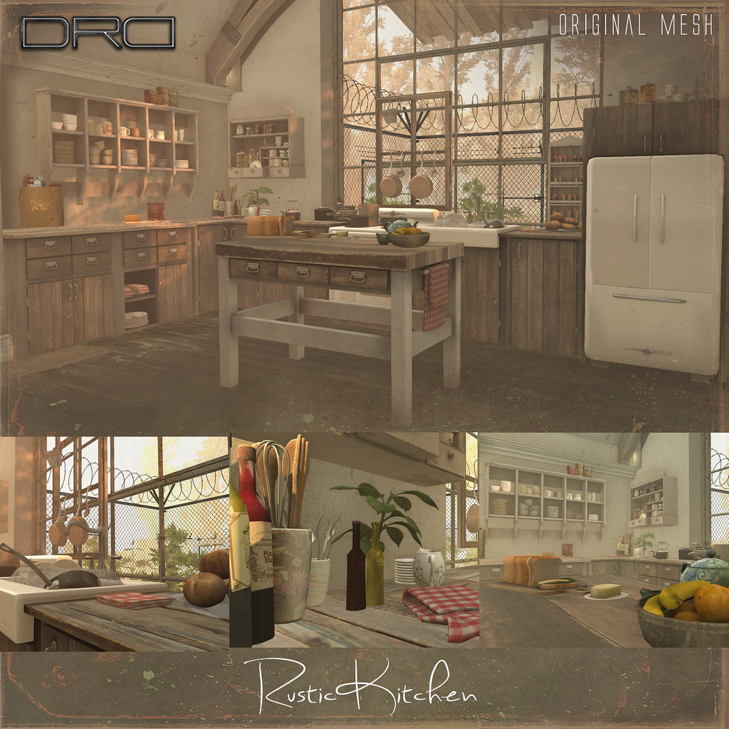 DRD Rustic Kitchen - SecondLifeHub.com