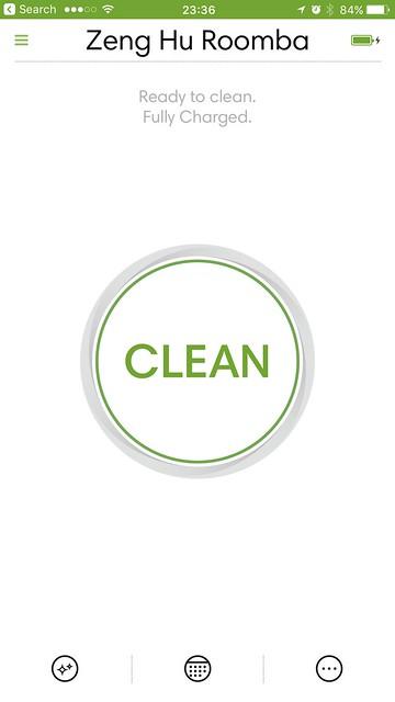 iRobot iOS App - Ready To Clean