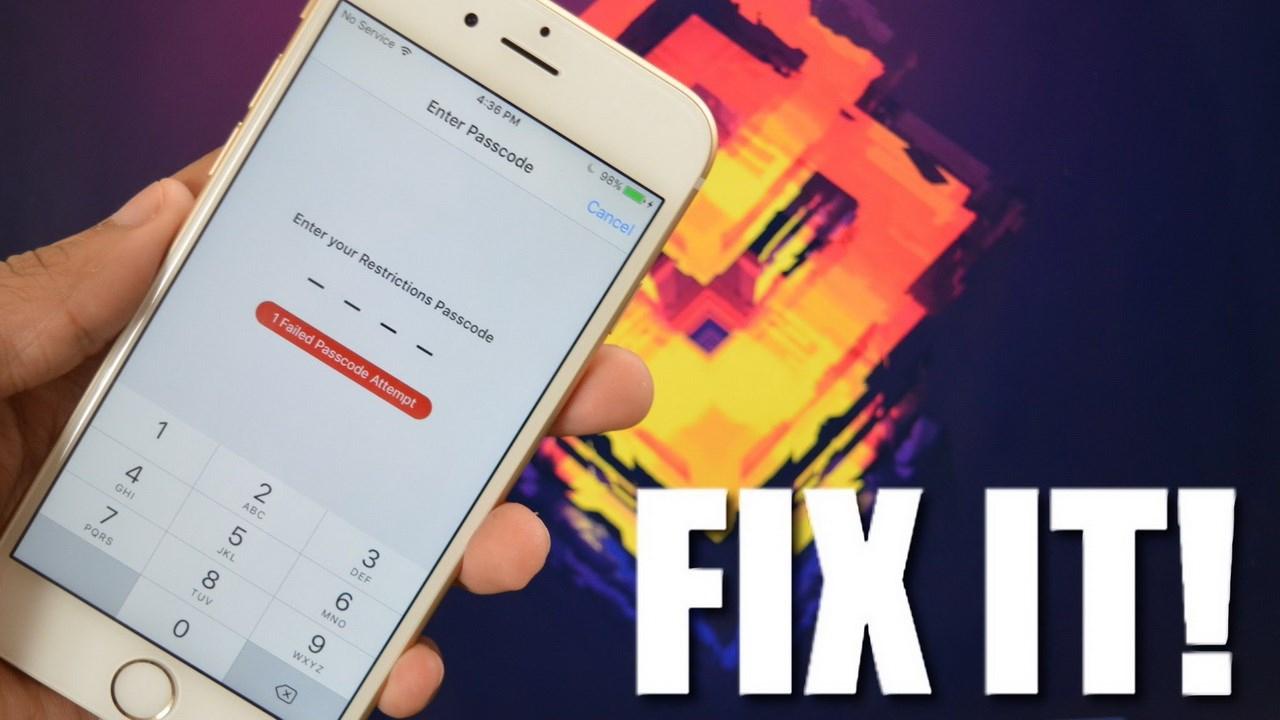 Cách mở khóa iPhone khi bị vô hiệu hóa do nhập sai mật khẩu