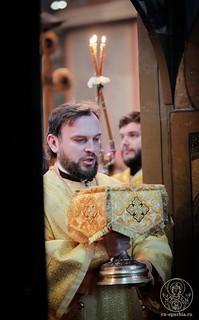 Литургия в Софийском соборе 300