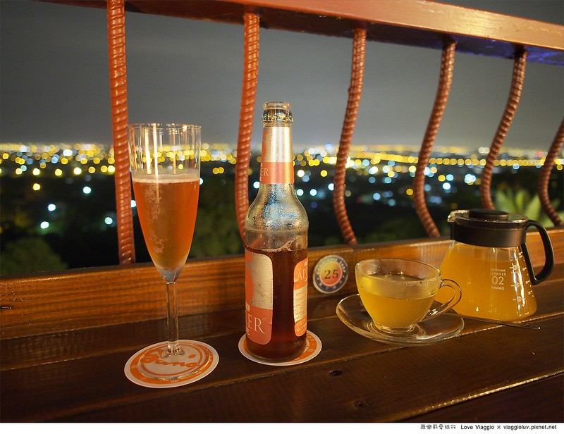 【宜蘭 Yilan】橘子咖啡 員山半山腰欣賞宜蘭最美的夜景
