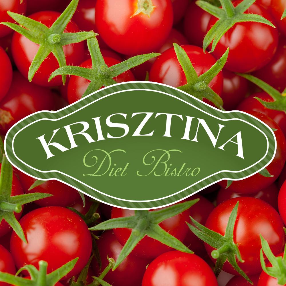 Krisztina Diet Bistro logóterv