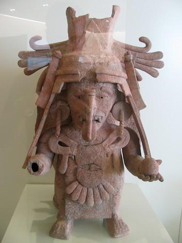 Incensario Chen Mul. Museo Maya de Cancún