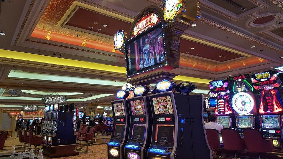 venetian casino slot machines