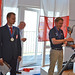 The winner's trophy was presented to Damien Vadon of France by Competition Director Allan Hansen