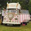 Best ice cream van I've ever seen. #splitscreen #vw #vwbus #vwcamper #clique53 #HucknallByronFestival