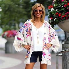 pattern, clothing, sleeve, kimono, outerwear, fashion, blouse, spring, pink,