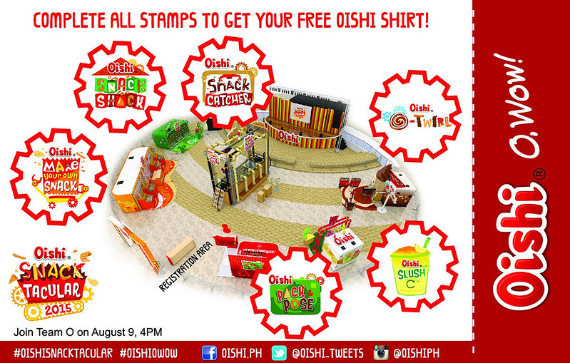 oishi snacktacular 2015 Pass To Wow card