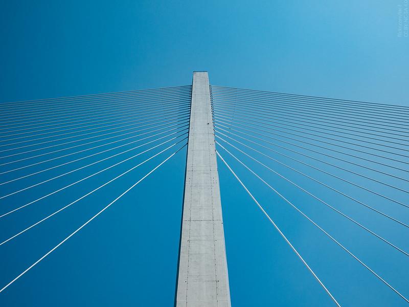 Zolotoy Bridge pylons