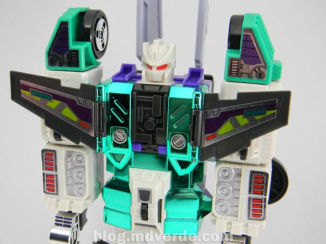 Transformers Sixshot G1 Reissue - Transformers Asia - modo robot
